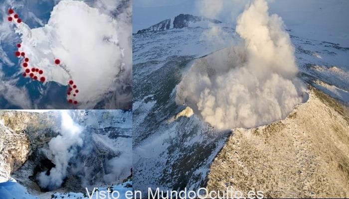 Los volcanes de la Antártida podrían despertar y hacer que la Tierra sea «inhabitable», advierten los científicos