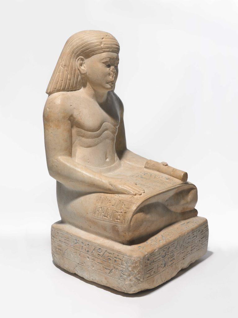 Amunhotep, hijo de Nebiry, ca. 1426-1400 AEC Piedra caliza, pigmento. Crédito: Museo de Brooklyn, Fondo Charles Edwin Wilbour