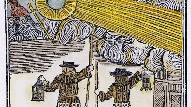 ¿Quién o qué volaba por el cielo nocturno el 16 de diciembre de 1742?