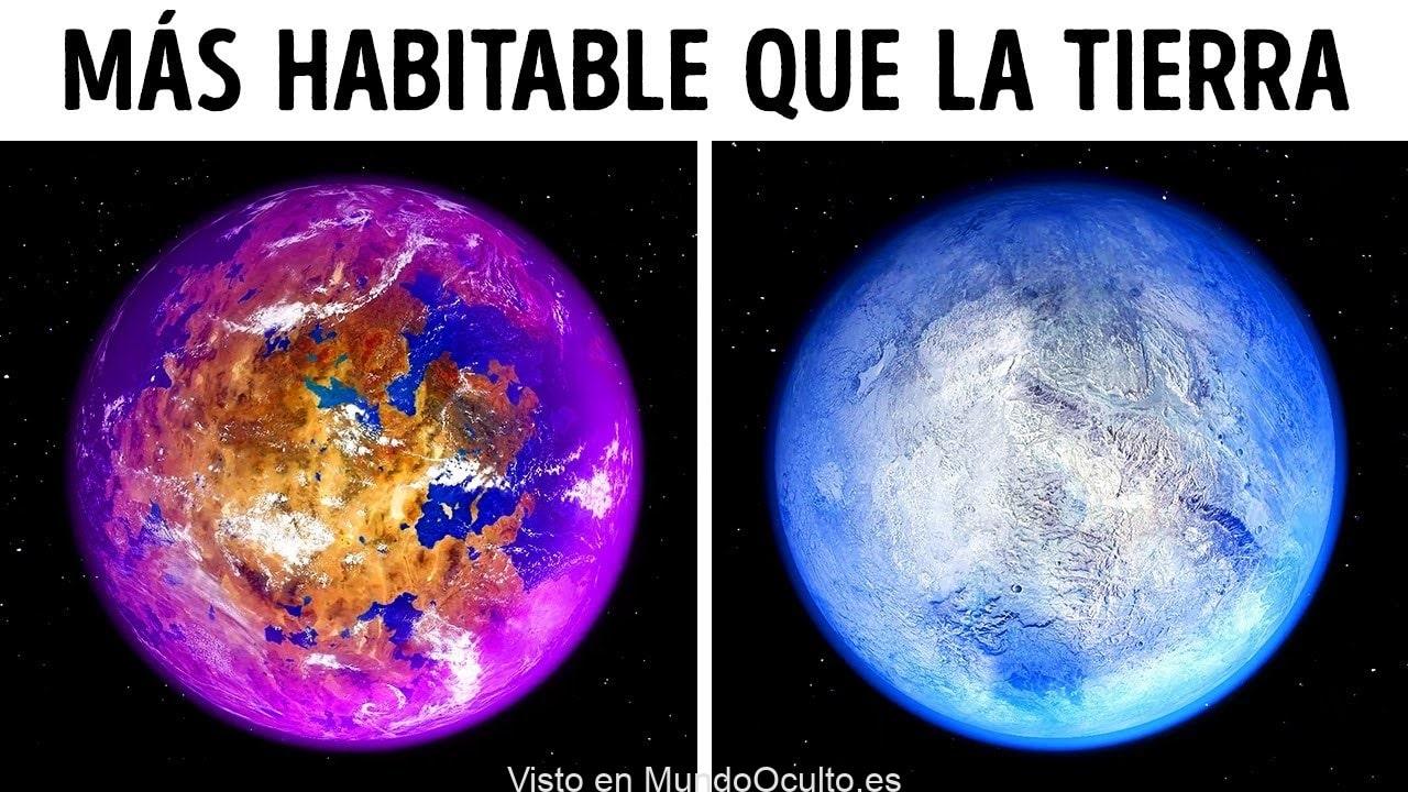 24 Planetas incluso mejores para la vida que la Tierra