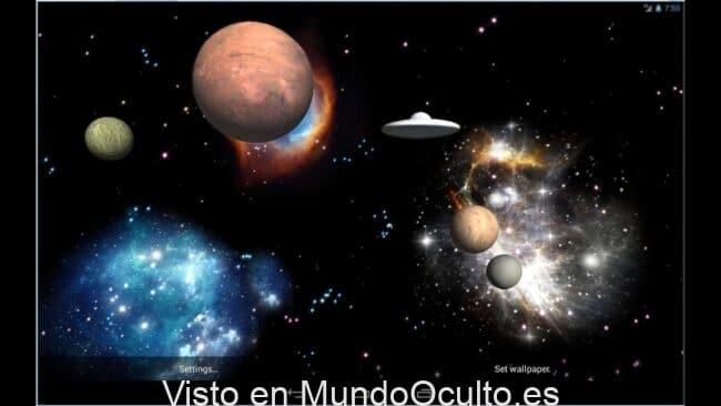 Alienigenas Caso Abierto Vida en Marte