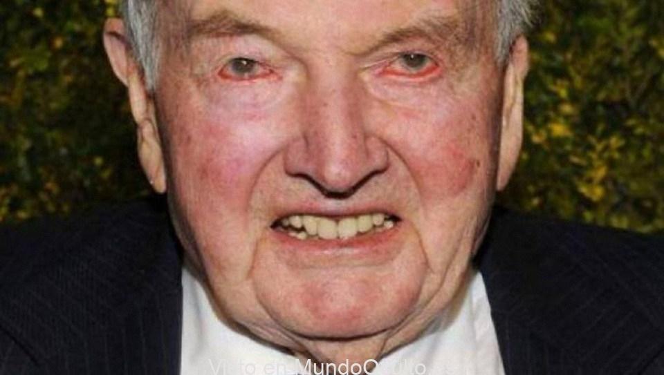 """David Rockefeller: """"Todo lo que necesitamos es una gran crisis y las naciones aceptarán el Nuevo Orden Mundial"""""""