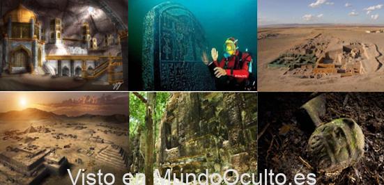 Diez ciudades legendarias que han surgido del pasado