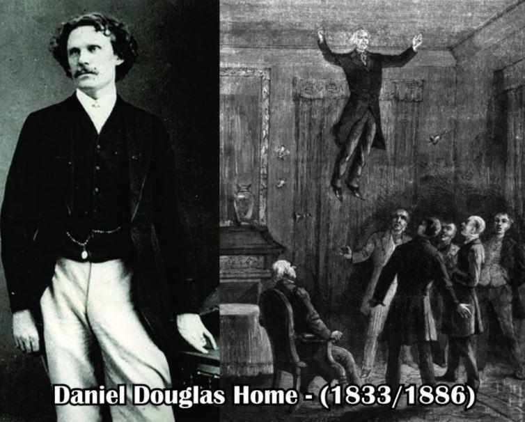 Levitación de Daniel Dunglas Home