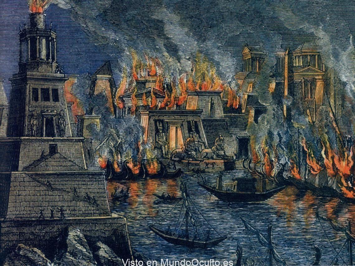 El incendio de la Biblioteca de Alejandría: El primer reseteo de la sociedad