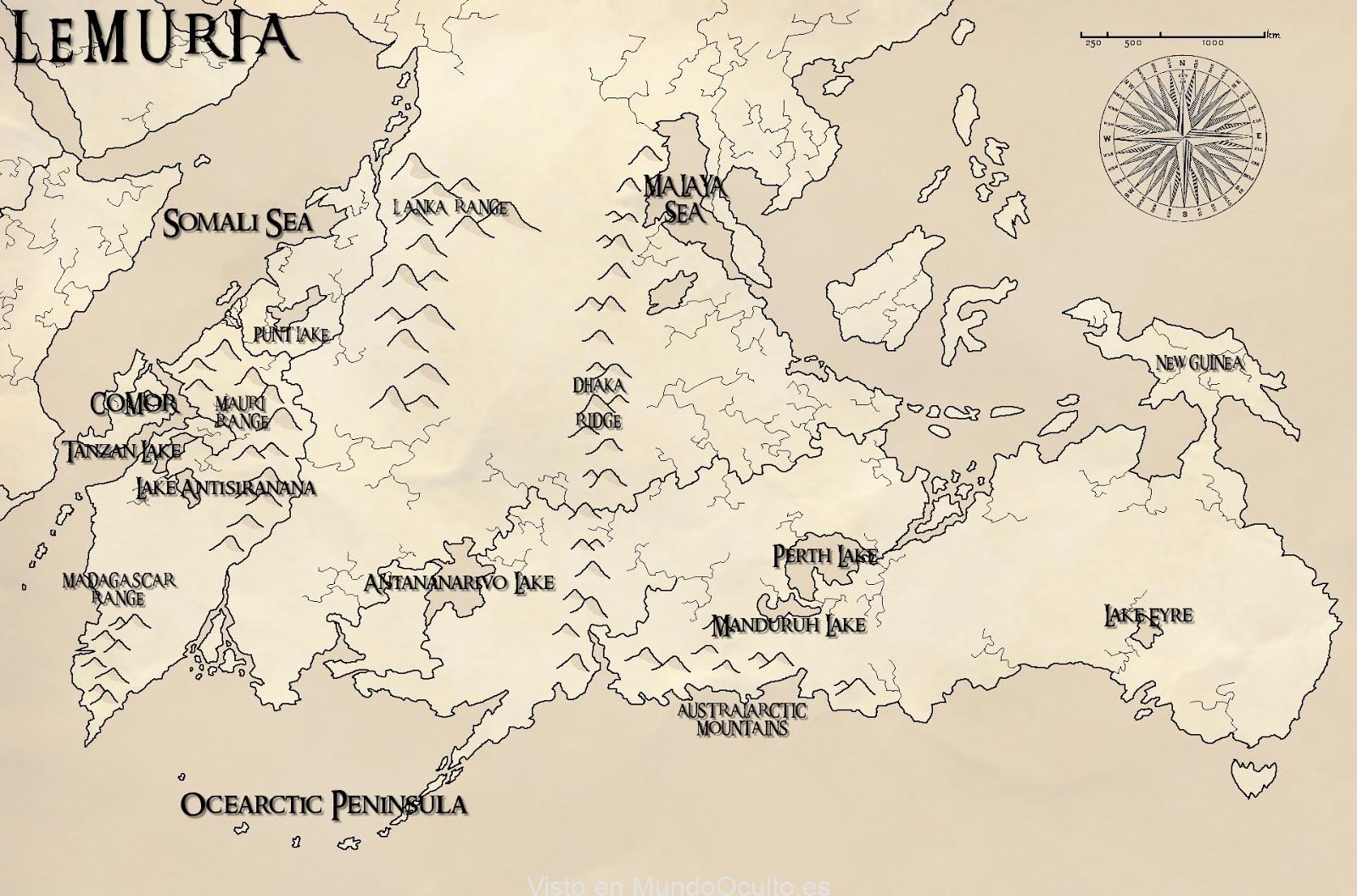 Historias de Lemuria: el continente perdido de una avanzada y antigua civilización