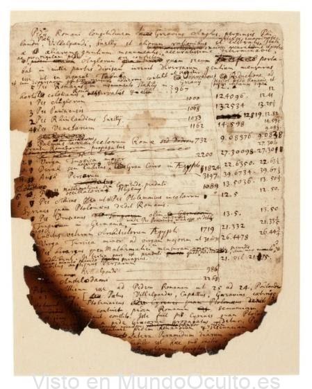 Isaac Newton creía que las pirámides de Egipto eran la clave del apocalipsis