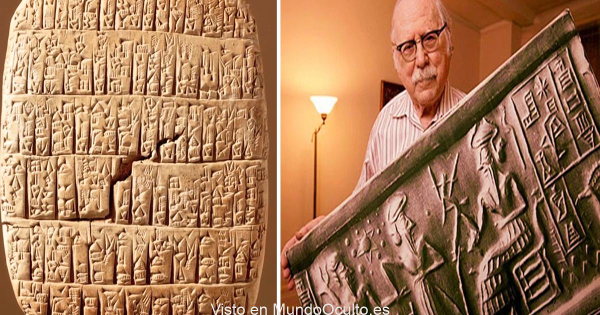 La verdadera génesis de la raza humana está tallada en estas antiguas tablas sumerias de 20.000 años