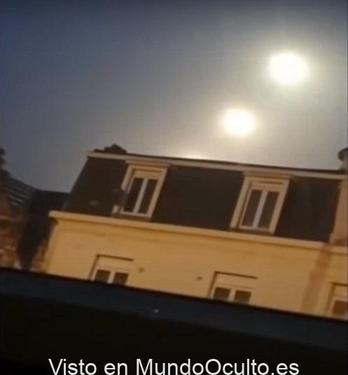 'MISTERIOSAS ESFERAS DE LUZ' del tamaño de «TRES SOLES» aparecen en los cielos de Amberes
