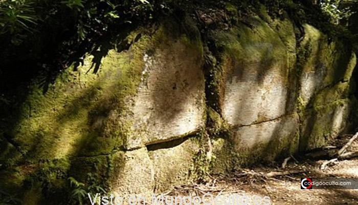 Muro de Kaimanawa: antigua estructura de roca hallada en medio de la jungla