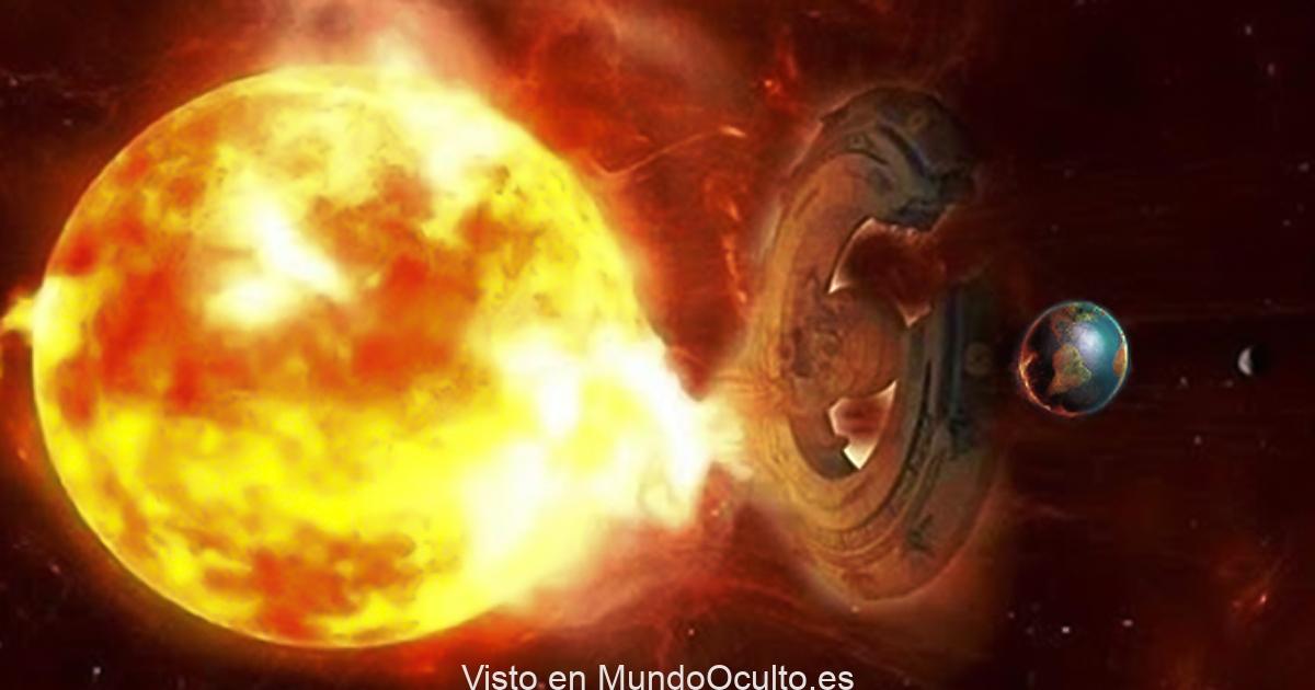 Objeto extraterrestre de gran tamaño que interactuó con el sol para evitar una gran tormenta solar que se dirigía a la Tierra.