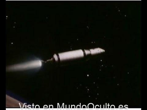 Propulsión nuclear en el espacio 1968 NERVA Manned Mars misión NASA video