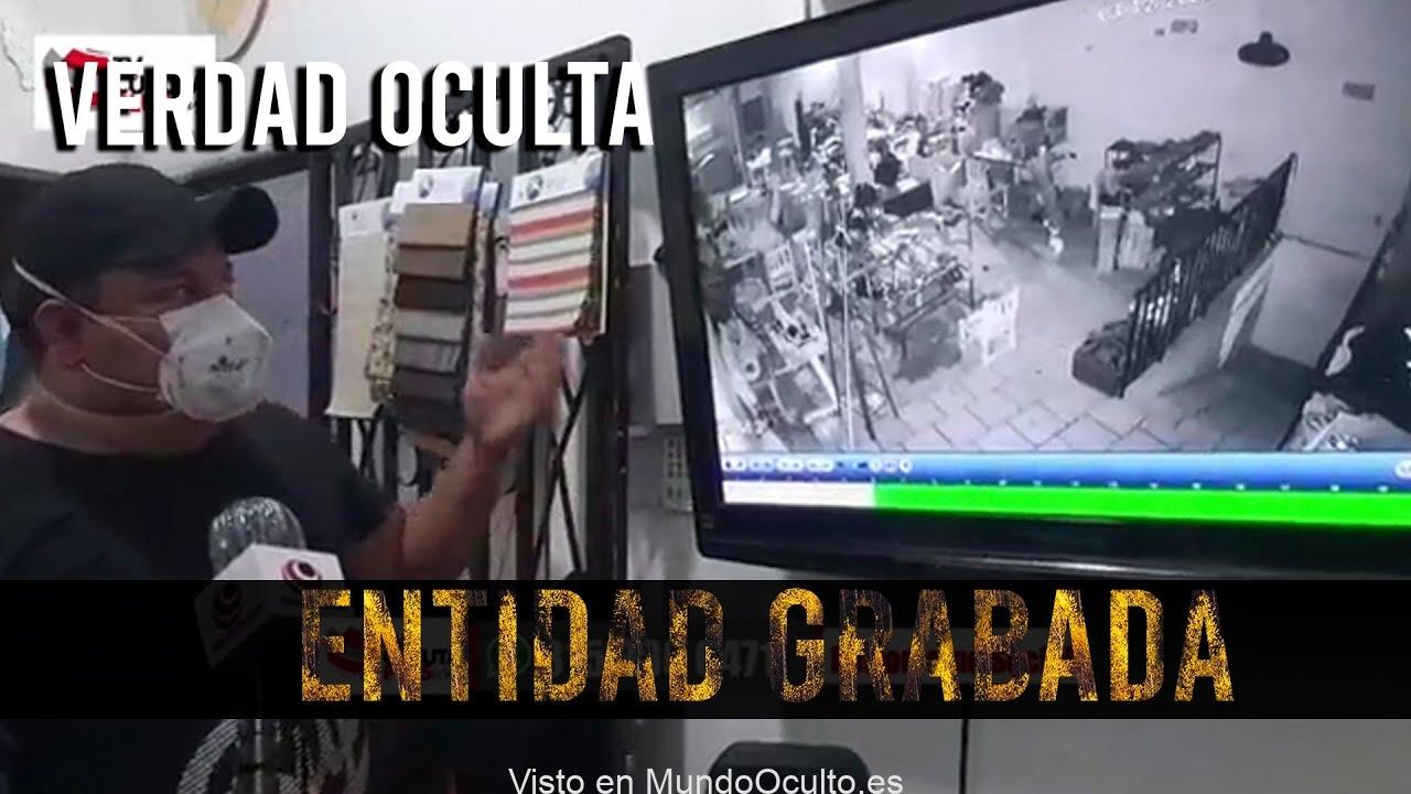 TIENES QUE VER LO QUE GRABÓ ESTA CÁMARA DE SEGURIDAD