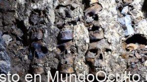 Torre Espeluznante Hecha De Cráneos Humanos Descubierta En México