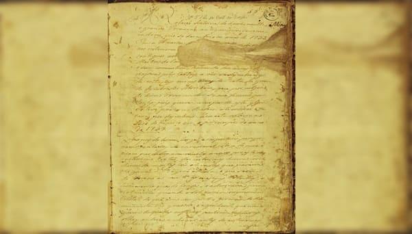 Extracto del manuscrito 512.