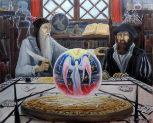 John Dee y Edward Kelley