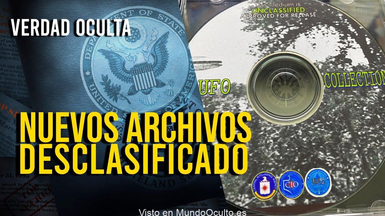 LA CIA ENTREGA CD CON NUEVOS DOCUMENTOS DESCLASIFICADOS