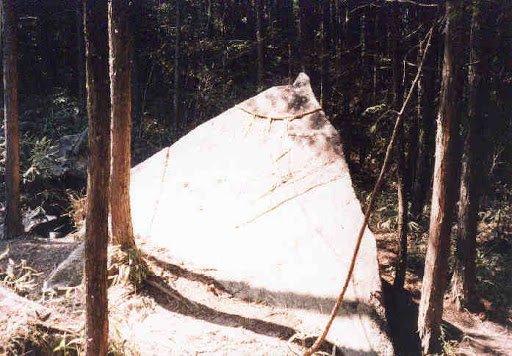 Pirámide del monte Kasagi