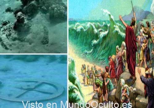 Moisés si cruzó el Mar Rojo: Encontraron los restos del ejército egipcio en el fondo del mar