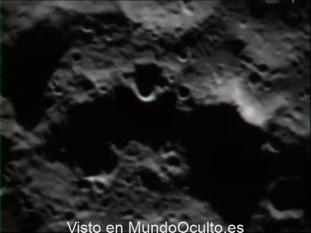 ¿Una «estructura artificial» fue localizada en la Luna?