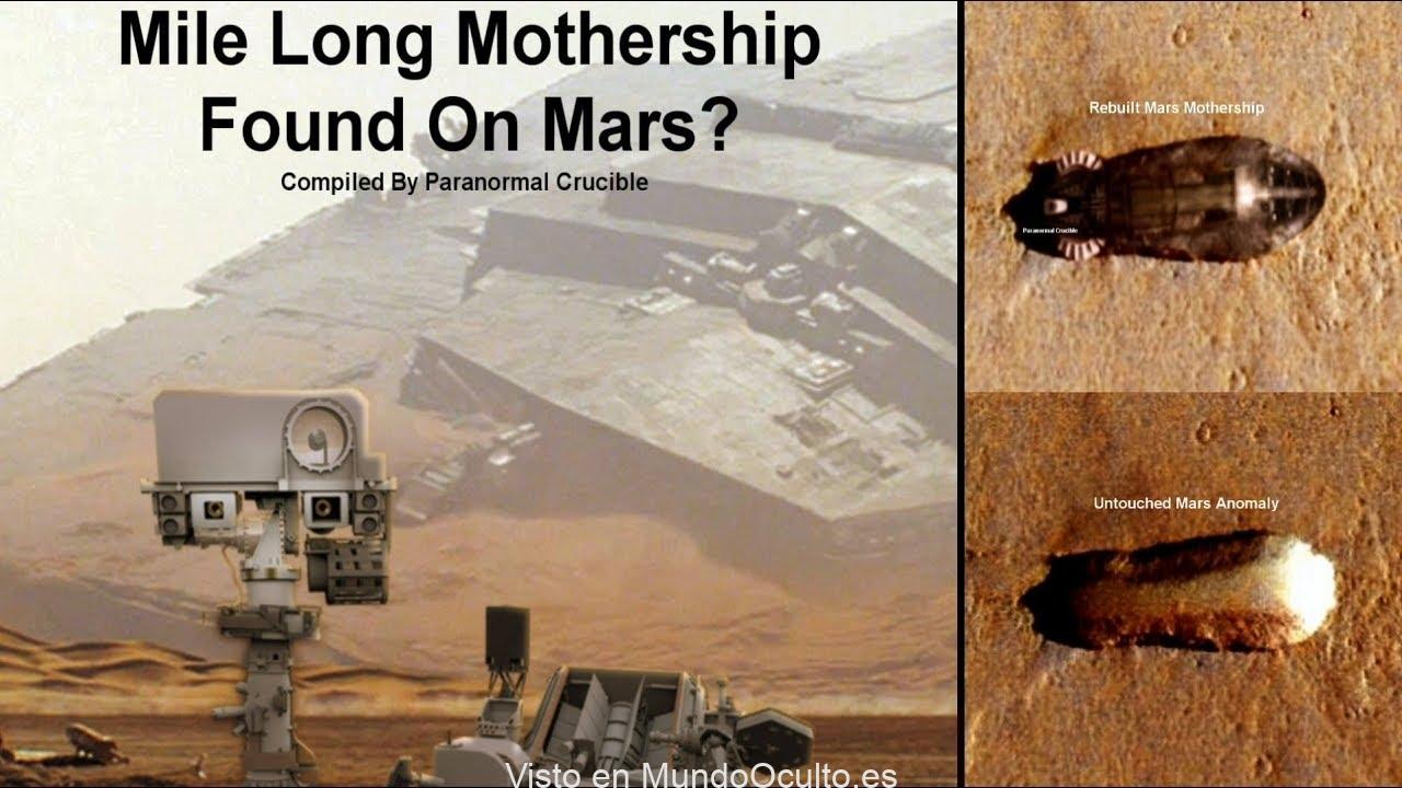 Cazadores de Ovnis afirman encontrar «nave nodriza alienígena» en Marte (Vídeo)