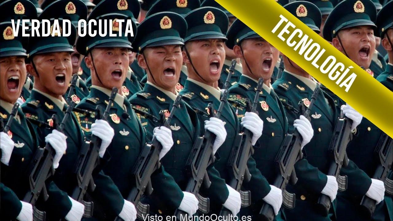 CHINA ESTÁ CREANDO «SUPERSOLDADOS» PERO OJO NO SON LOS ÚNICOS