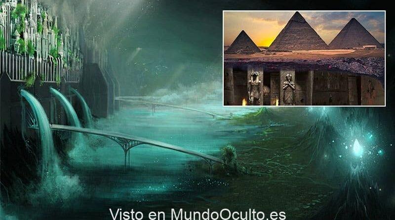 Ciudad subterránea bajo las pirámides de Giza: ¿reprimida por la historia?