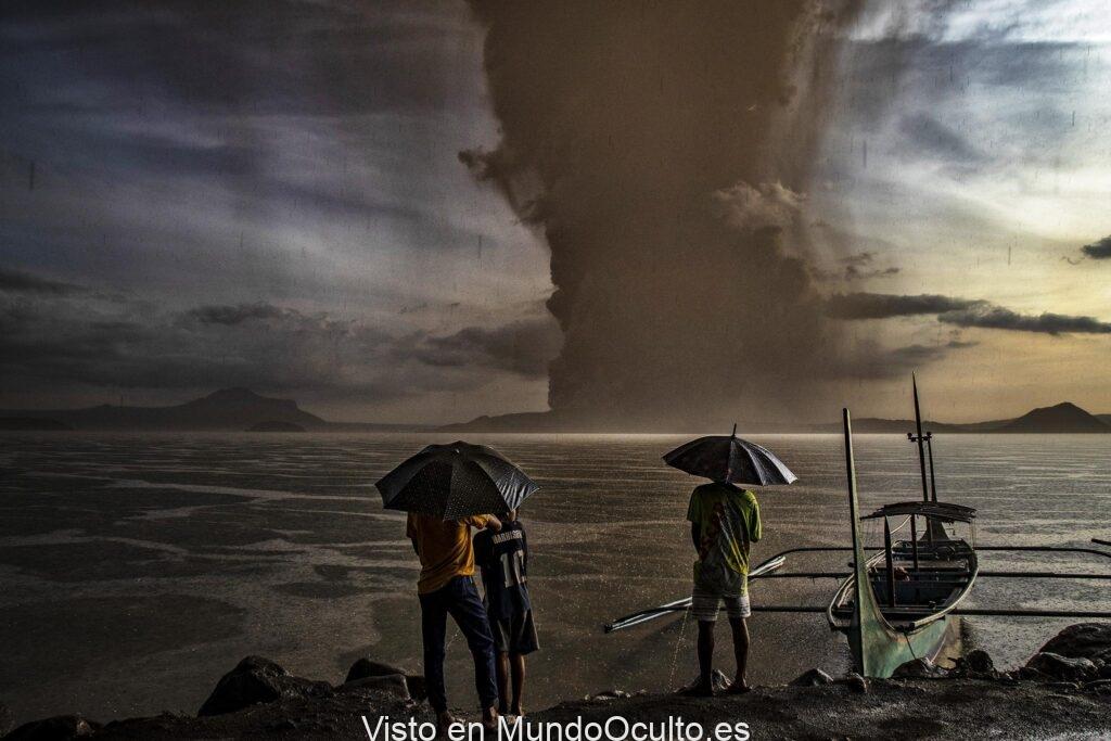 Infierno Volcánico: La Erupción Del Supervolcán Taal En Filipinas Es El Comienzo De Una Reacción En Cadena