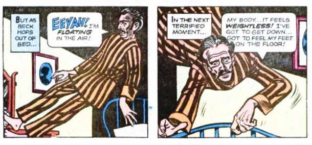 La historia de Reynald Beck se incluyó en un número de 1978 de Ripley. (Mitosfera)