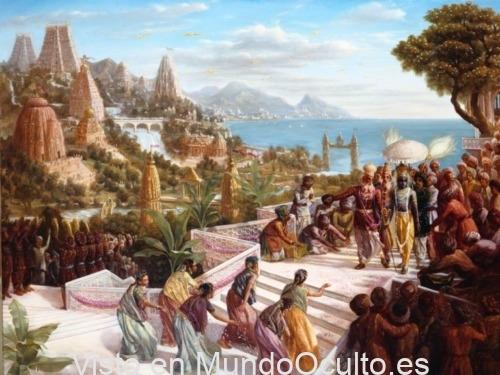 La mítica metrópoli que fue destruida con un Vimana