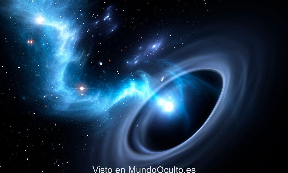 La partícula «fantasma» surgida de un agujero negro
