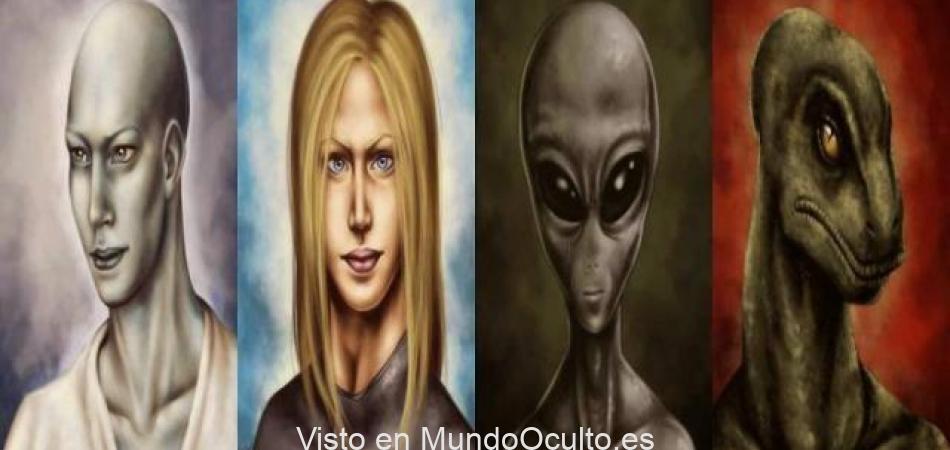 Las razas alienígenas que luchan por el control de la Tierra.