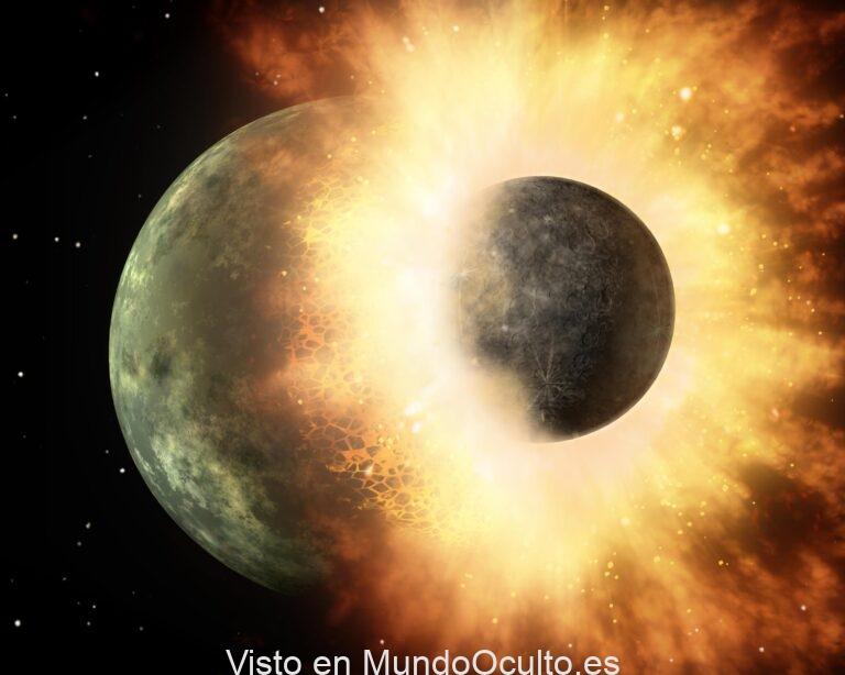 Restos de un mundo alienígena están enterrados en la Tierra