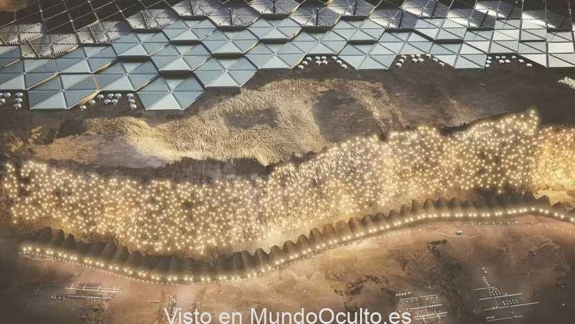 Se ha publicado el primer proyecto de una ciudad en Marte para 250 mil personas 1