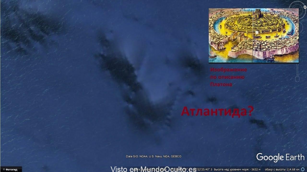 Un científico ruso dice haber descubierto la misteriosa y desaparecida Atlántida