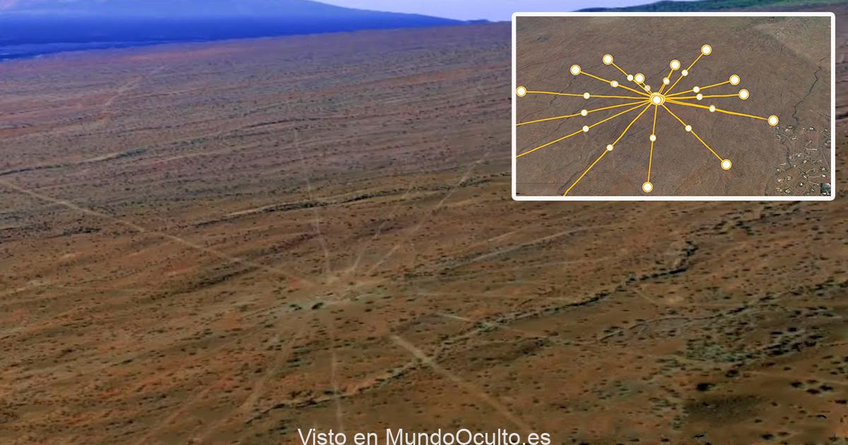 Un extraño mapa estelar antiguo de 150.000 años descubierto en Hawái (3 millas de ancho)