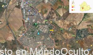 Un OVNI aterriza en Montequinto (Dos Hermanas, Sevilla)