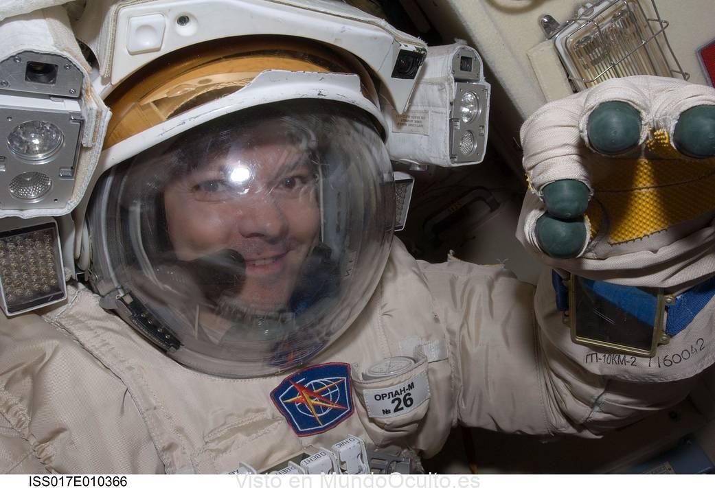 Astronauta ruso Oleg Kononenko revela que cree en «alienigenas»
