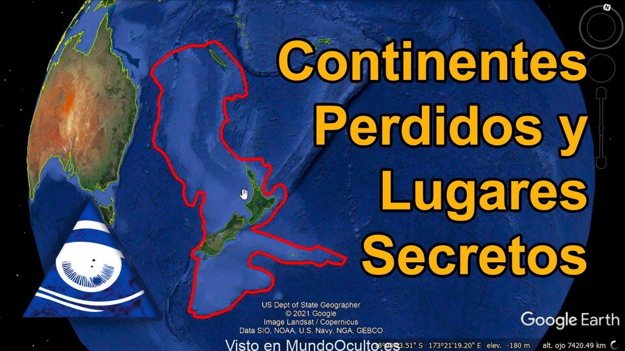 Continentes Perdidos y Lugares Secretos