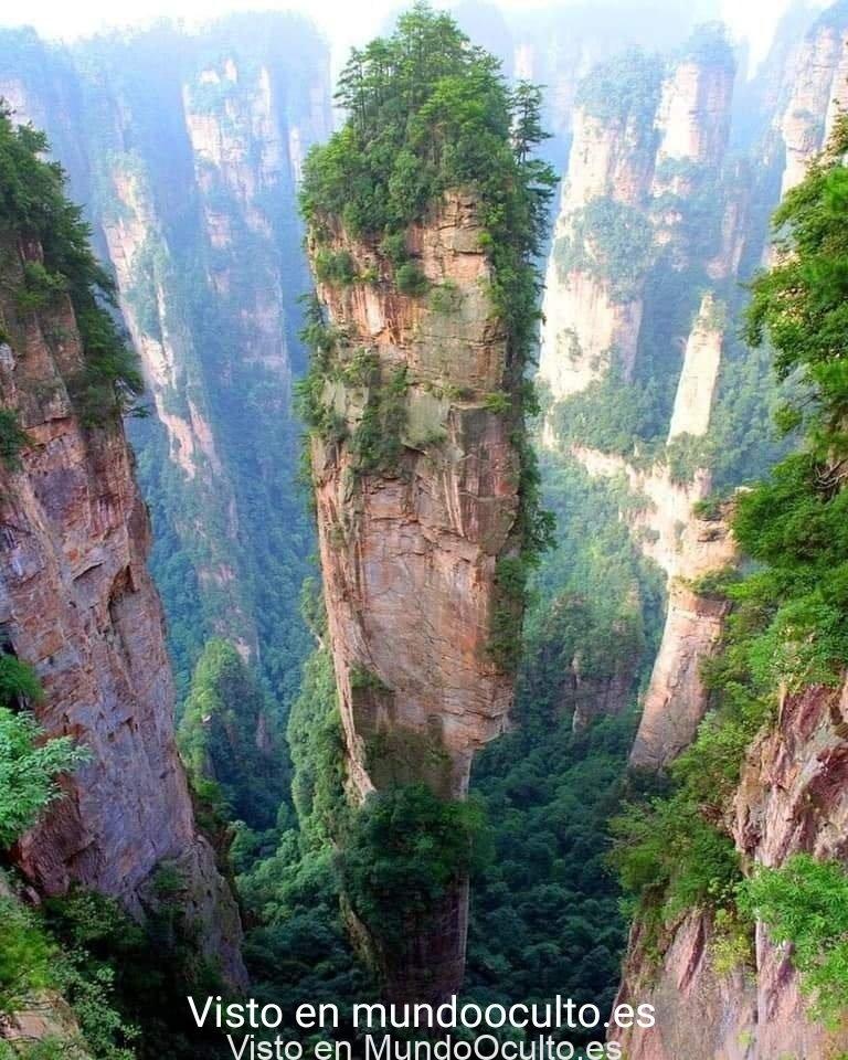 MONTAÑA TIANZI EN CHINA