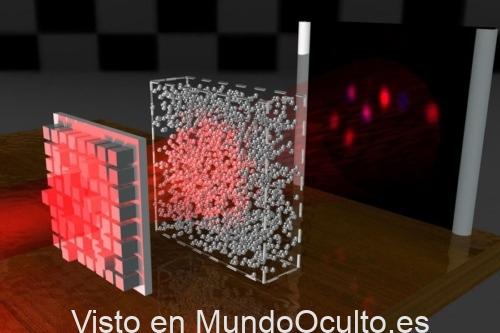 Investigadores descubren cómo realizar «invisibles» los objetos sólidos utilizando haces de luz