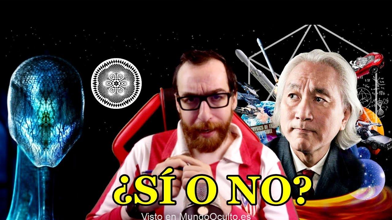 Michio Kaku se moja: NO a los extraterrestres
