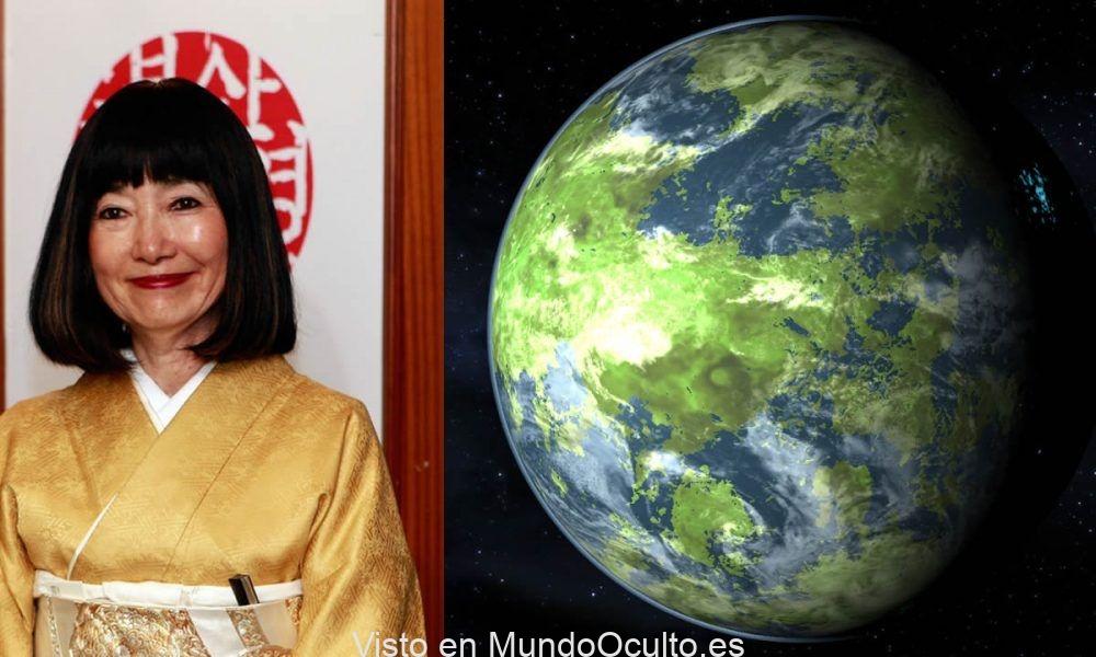 Miyuki Hatoyama, La Primera Dama que afirmo viajar a Venus y presenciar un Mundo Alienígena