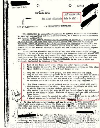 OVNIs, entes extradimensionales y FBI: Historia del Memorándum 6751