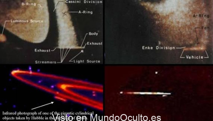 """Plan Camelot: """"Una supuesta nave por los anillos de Saturno"""" (Video)"""