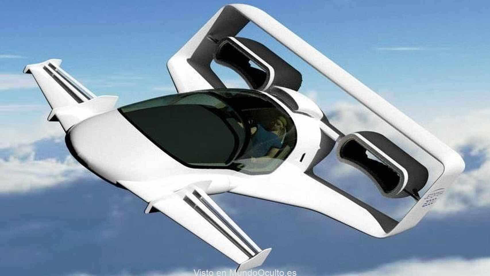 El coche que vuela con motores como los ventiladores Dyson: sin hélices y a 600 km/h