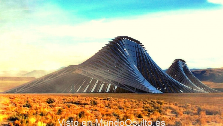 Esta colosal montaña solar puede alimentar casi cualquier lugar de la Tierra