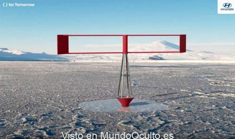 Los científicos revelan una ingeniosa máquina para volver a congelar el Polo Norte y luchar contra el cambio climático