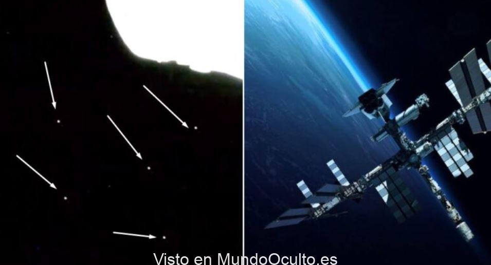 Denuncian centenares de objetos No Identificados «volando» en las proximidades de la Estación Espacial Internacional (VIDEO)