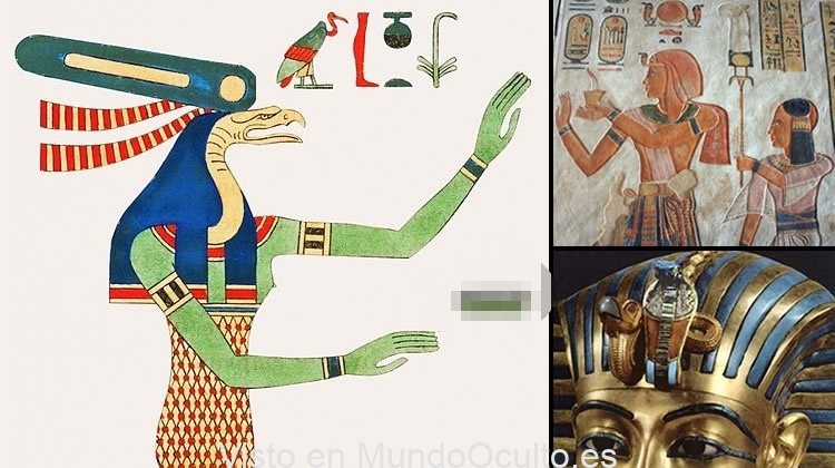 La energica deidad reptiliana que protegía a los faraones